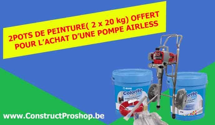 Promo Pompe Airless